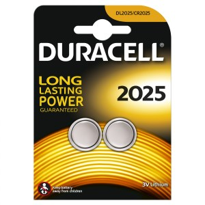 Duracell CR2025 Lithium Cell Battery