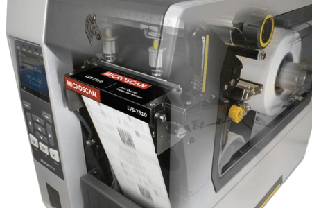 LVS-7510 label inspection with Zebra printer