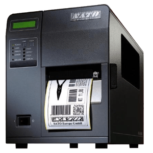 sato M84pro label printer for precise labelling and robust performance