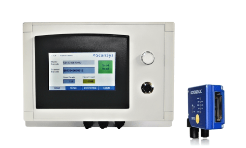 QV200 barcode validation system for 100% inspection of barcodes