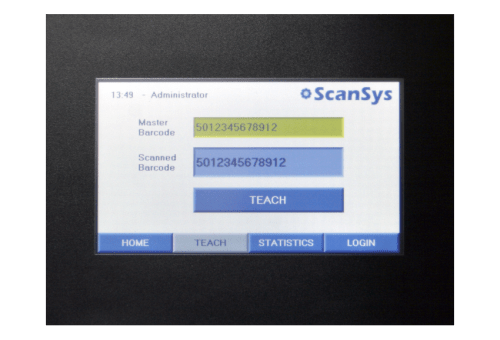 QV200 barcode inspection and validation