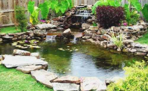 Koi pond malaysia design build specialist scapexpert for How to build a koi pond on a budget