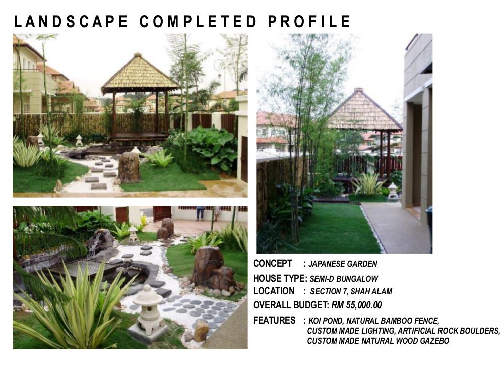 Landscape Pictures | Garden Design Portfolio in Malaysia ...