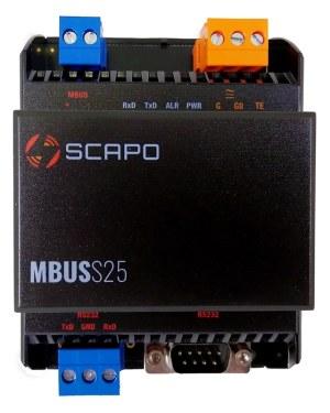 M-Bus-Wandler für Energie- und Medienzählerauslesung SCAPOKSCMBS25