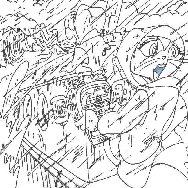 StoryArt/Book Illustration: Danger Rangers