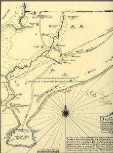 Map - Black Point, Scarborough, c. 1741