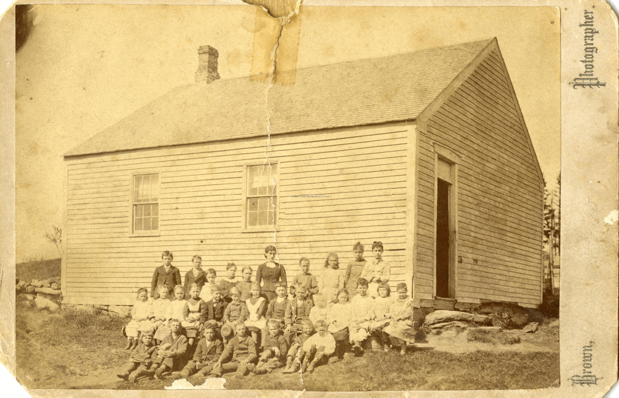 Beech Hill School, ca. 1879