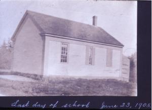 Original Oak Hill School, Scarborough, June 23, 1905