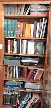 Photo of the right side of Bookcase 1