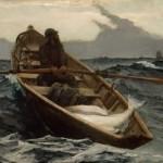 "Image of Winslow Homer's painting ""Fog Warning"""