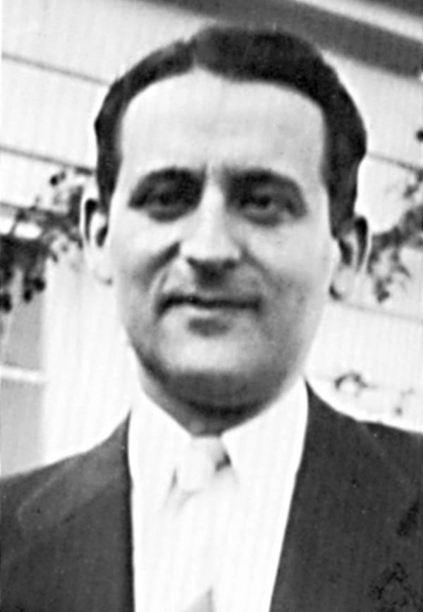 Portrait of Samuel Goudsmit, 1937.