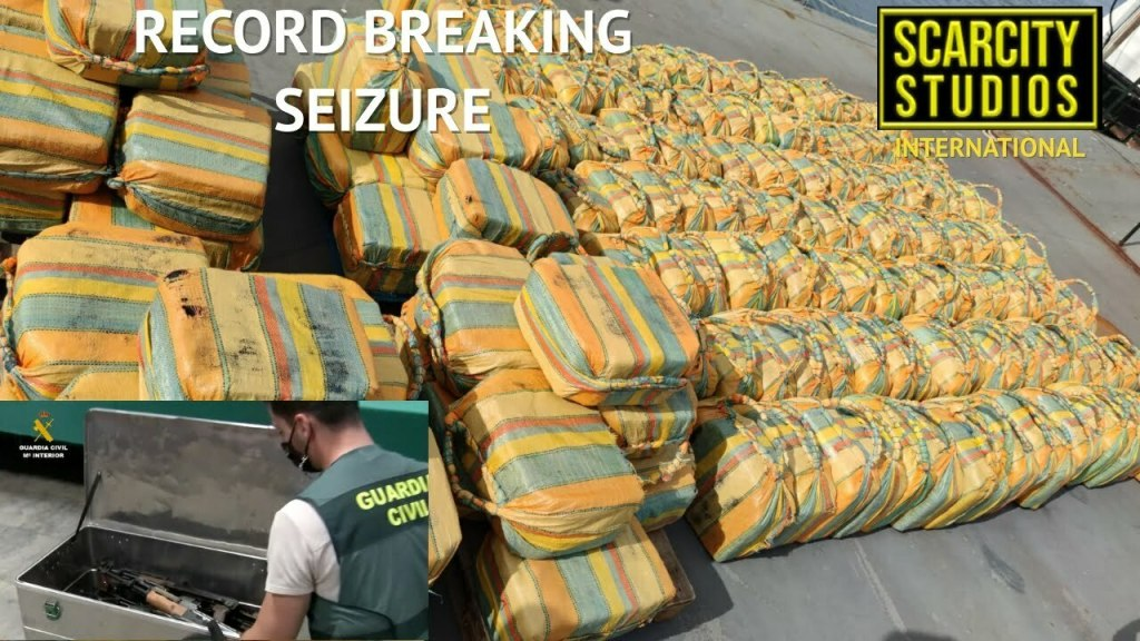 5.2 Tonne cocaine seizure by NCA in Portugal destined for Europe & UK