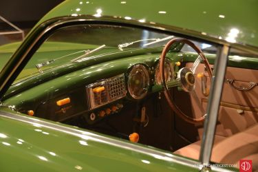 The lovely interior details of the 1950 Cisitalia 202 SC