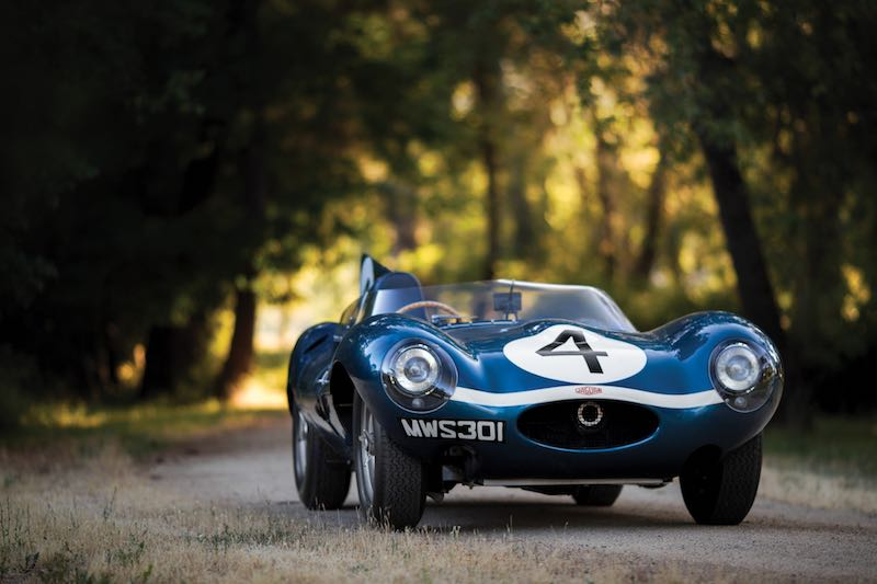 1955 Jaguar D-Type Left Front