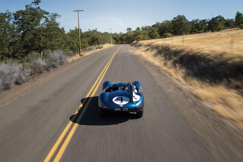 1955 Jaguar D-Type Main