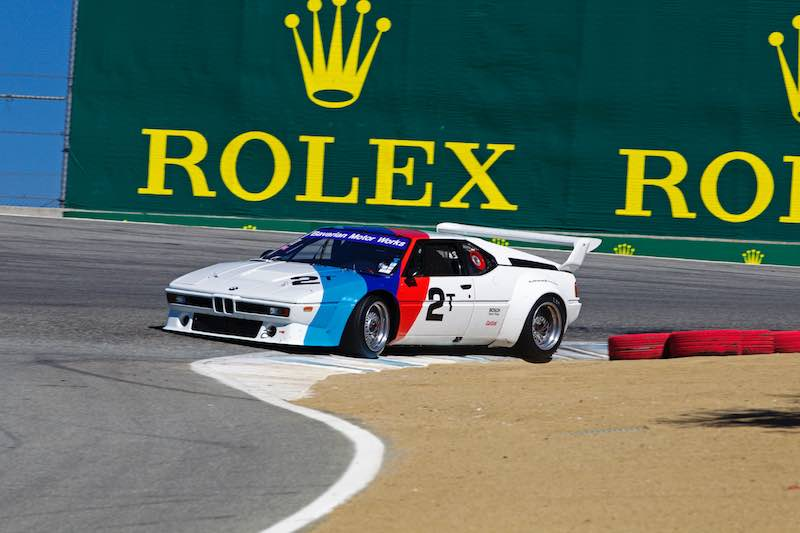 1981 BMW M1 IMSA Group 4 to race at the Rolex Monterey Motorsports Reunion 2016.