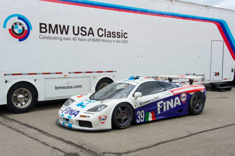 1996 McLaren F1 GTR to race at the Rolex Monterey Motorsports Reunion 2016