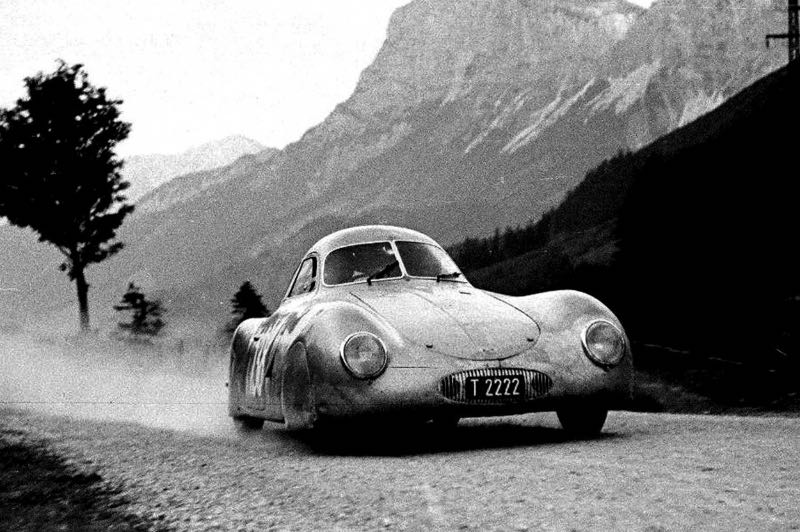 International Austrian Alpine road race, June 24-25, 1950. (Photos from the Otto Mathe collection; courtesy of the owner).