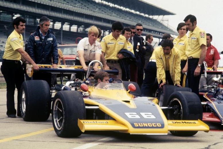 Team Penske at Indy. Photo courtesy of Bill Warner.