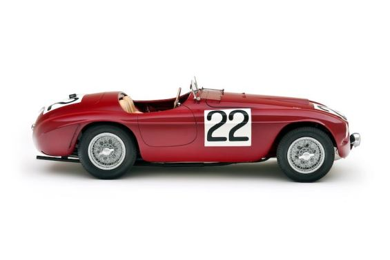 Ferrari 166MM 0008M, ex-works Mille Miglia and Le Mans winner