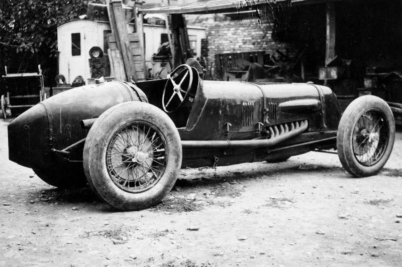 Maserati Tipo V4 at Bologna in 1929