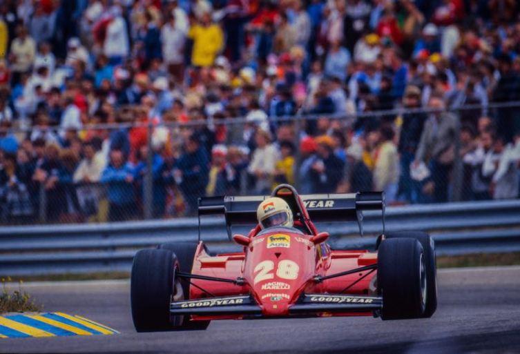 1983 Ferrari 126 C3 (photo: DPPI)