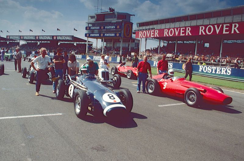 Historic Grand Prix Cars, 1990 Silverstone Classic