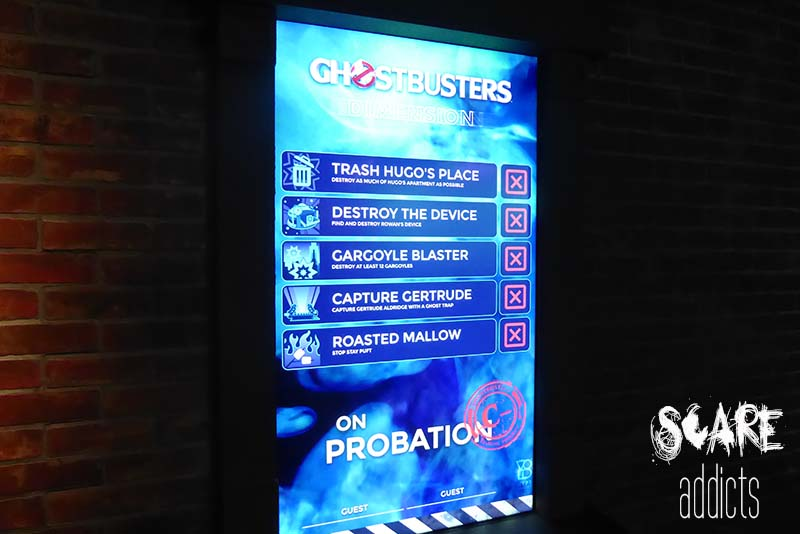 Ghostbusters Dimension Scoreboard