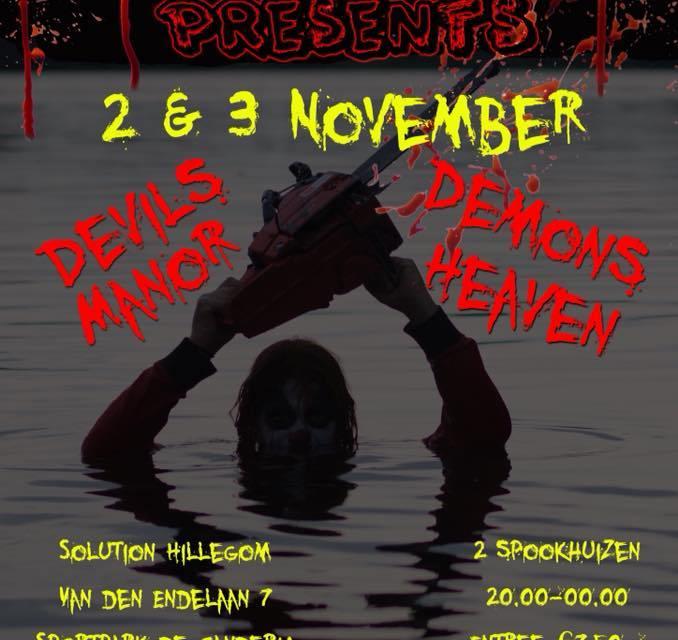 Scare Team presents Devils Manor & Demons heaven
