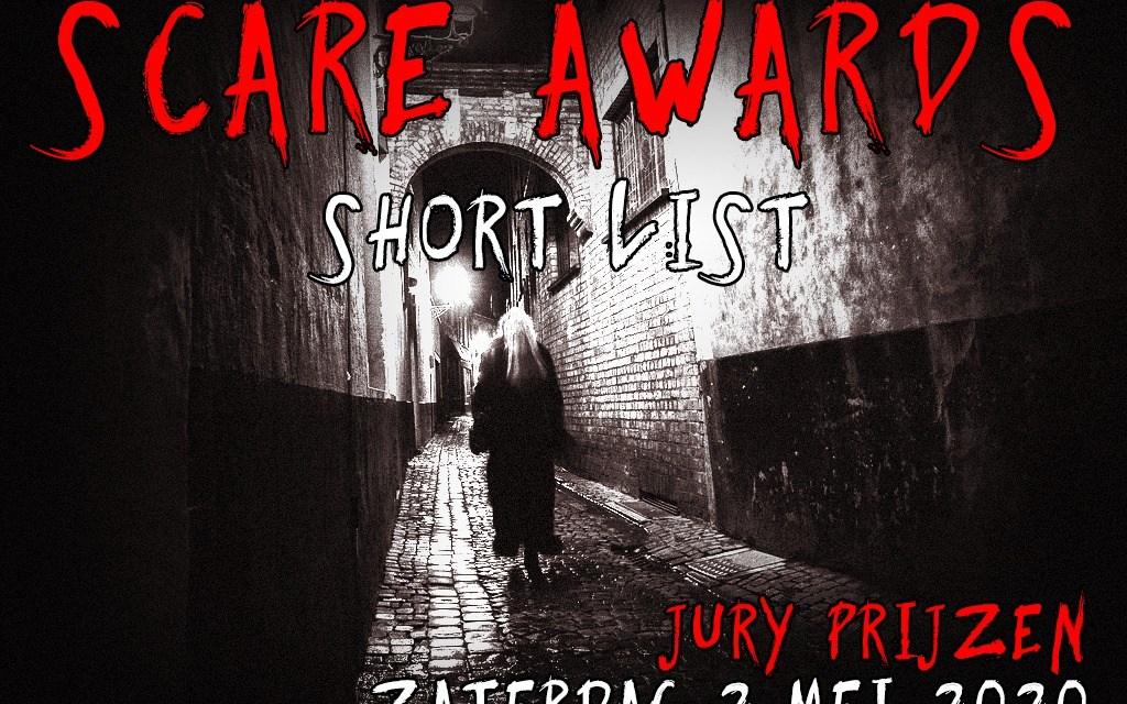 Genomineerde Scare Awards jury prijzen