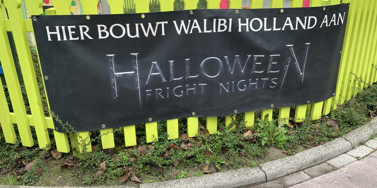 [Foto's] Opbouw Halloween Fright Nights