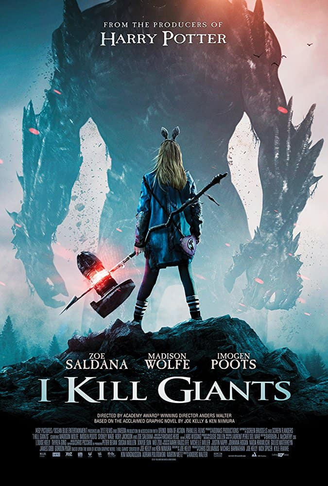 I Kill Giants Poster