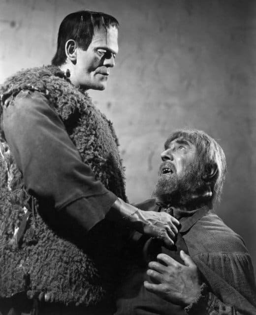 Karloff and Lugosi - Frankenstein