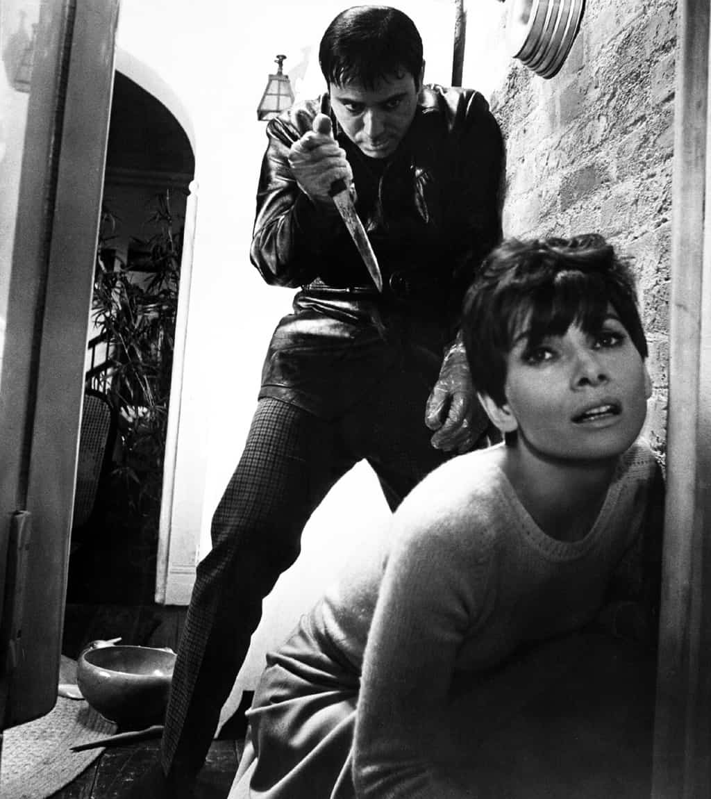 Audrey Hepburn in Wait until Dark
