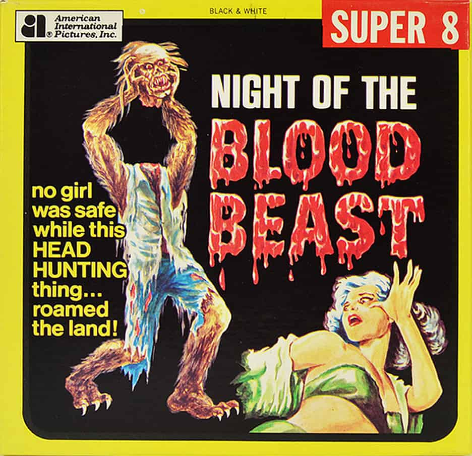 Night of The Blood Beast Super 8 box