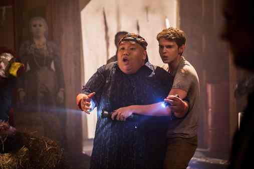Jacob Batalon and Robbie Kay in Blood Fest