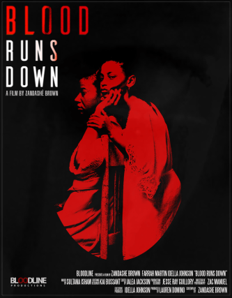 Blood Runs Down Promotional Poster