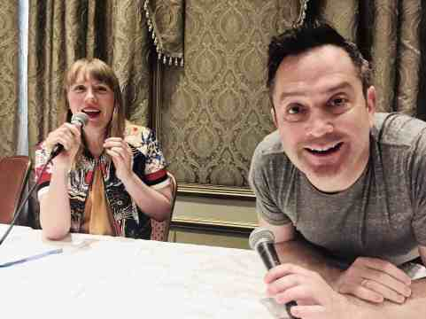 Amy Nicholson of the Canon Podcast and Actor Thomas Lennon