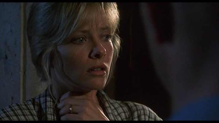Barbara Crampton in 1995 in Castle Freak