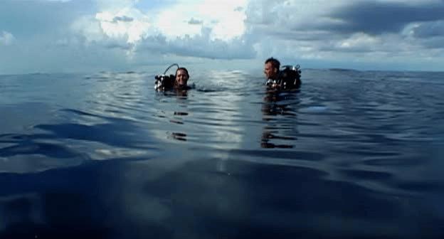 Open Water Stranded