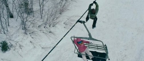 Making a climb for it in Frozen.