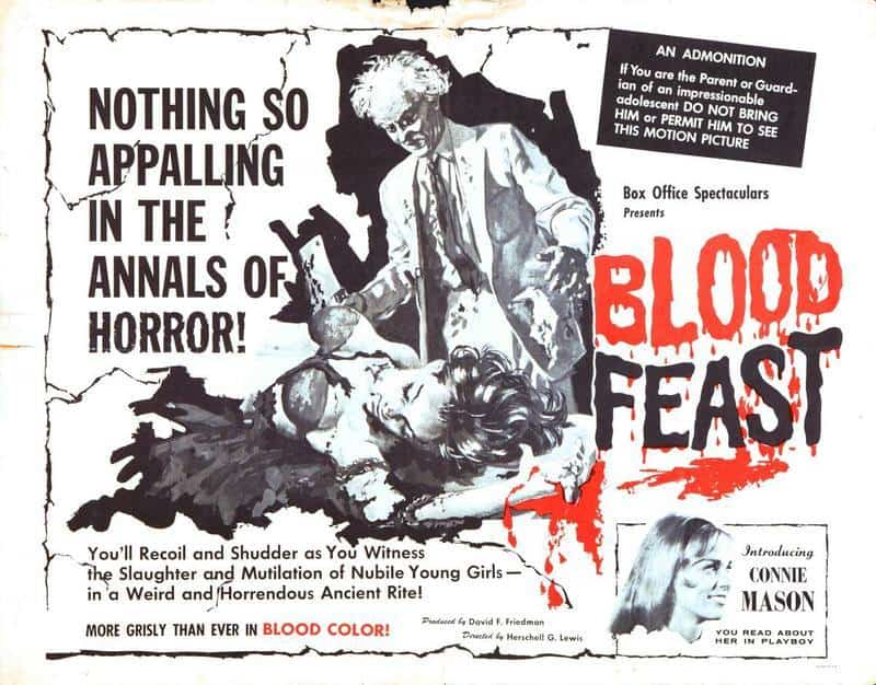Bloody Christmas 1963.Mike S Review Blood Feast 1963 The Scariest Things