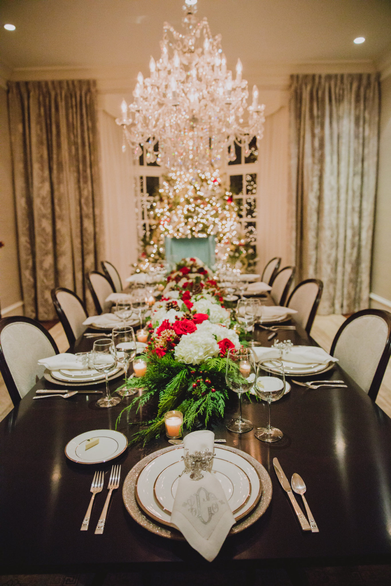 Christmas dinner by Scarlett Events Atlanta