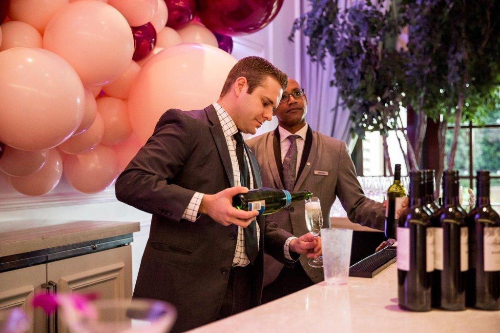 Scarlett Events launch party bar at the St. Regis Atlanta
