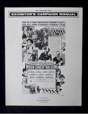 when-comedy-was-king-laurel-hardy-chaplin-movie-pressbook-ads-poster-img-vtg-a516c123ebbaab4dac38cee80391df6e