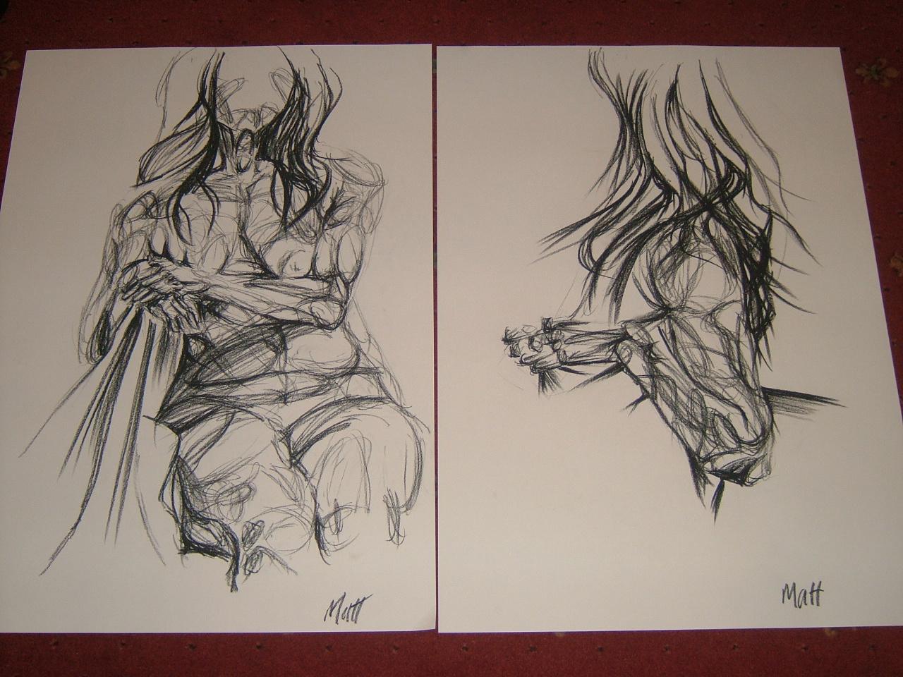 Life drawing 18  matthew scarletts artwork