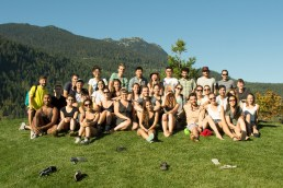 Group photo in Whistler (Sept 2015)