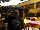 Warren relaxing in Mexico