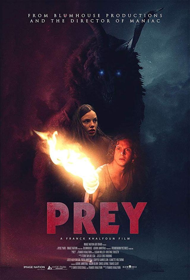 Resultado de imagem para prey 2019 movie poster