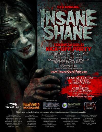 insane shane party